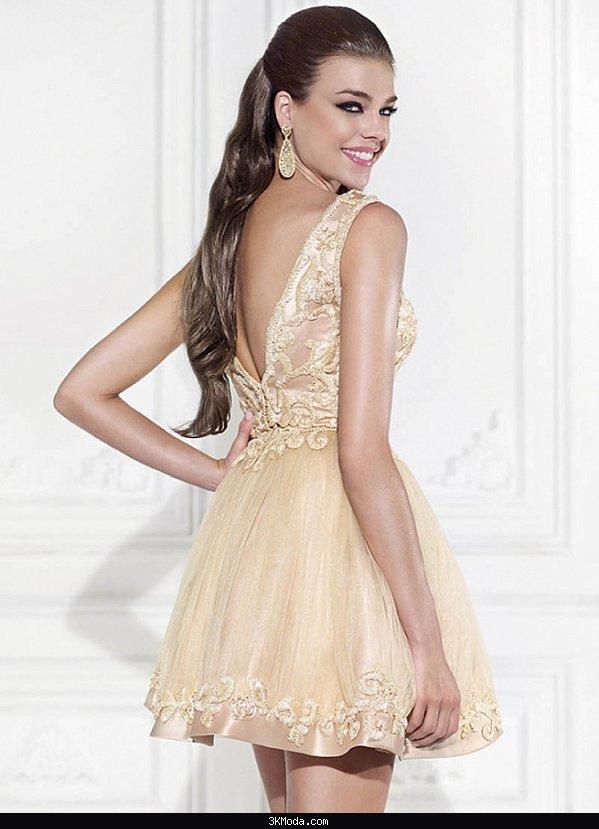 97ea859ef8c16 Kısa abiye elbise modelleri 2016 | 3K Moda
