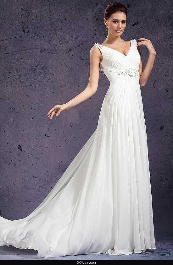 8da65eed6a4a1 Beyaz abiye elbise modelleri 2016 | 3K Moda