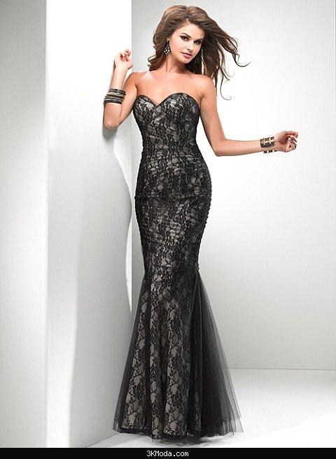 Dantel abiye elbise modelleri 2016