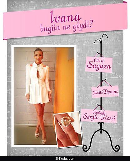 Ivana Sert Elbise Modelleri 2016