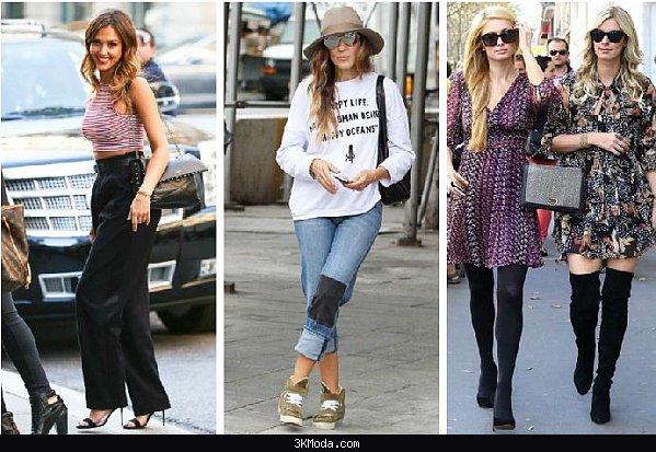 Ünlülerin sokak modası 2016