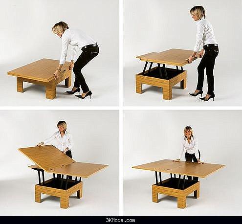 Açılır kapanır masa modelleri