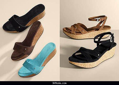 Bayan terlik ve sandalet modelleri 2016