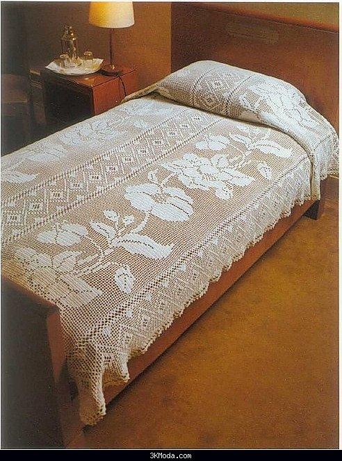 Geleneksel motifli yatak örtüsü modelleri