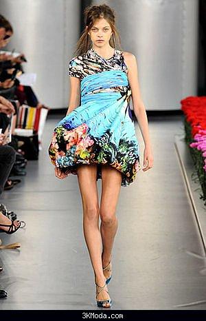 Mary Katrantzou elbise tasarımları