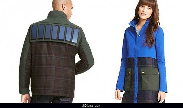 Telefon şarj eden ceketler