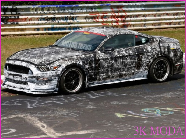 2017 Ford Mustang SVT Caught Attacking the Nurburgring - Motor Trend