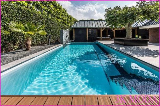 Balkon Havuz Tasarımları Villa arka bahçe camlı havuz modelleri ...