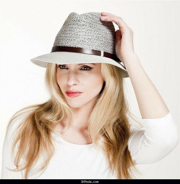 Yazlık bayan şapka modelleri 2016