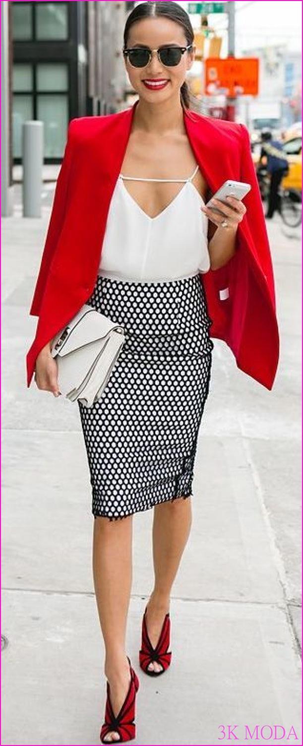 40 Yaş kadınlar için şık moda kıyafet fikirleri