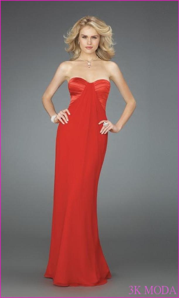 Geniş Basenli Bayanlara Yakışan Abiye Elbise Modelleri | Pembe
