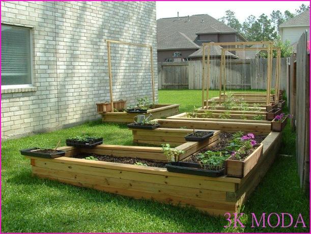 Küçük bahçe düzenleme örnekleri