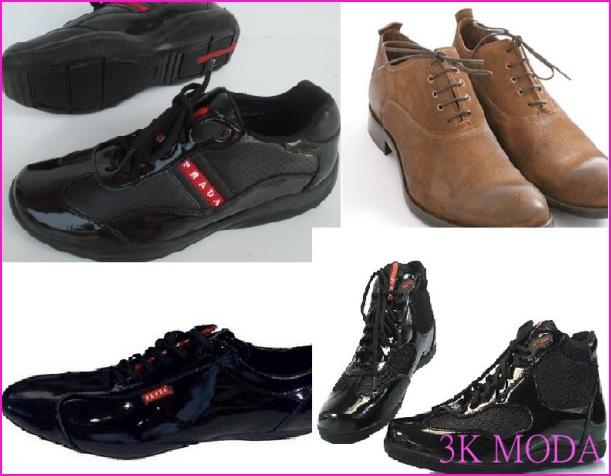 Prada ayakkabı tasarımları bu kış sezonunda, rugan ve deri ...