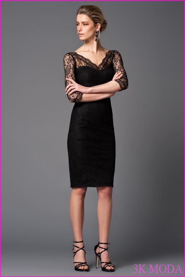 likralı dantelli kısa abiye elbise modelleri   Elbise Modelleri