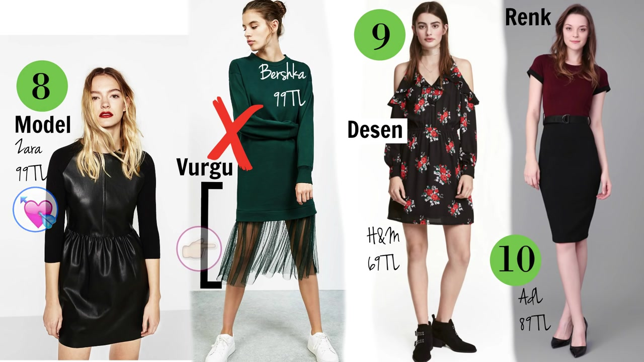 Armut Vücut Tipine Göre Elbise Modelleri