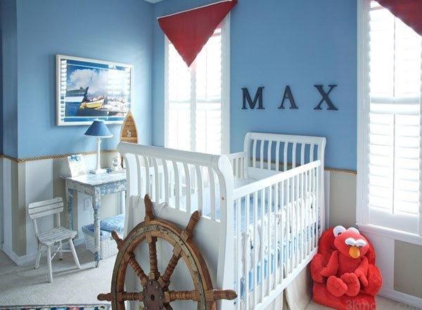 erkek bebek odalari icin dekor onerileri 5