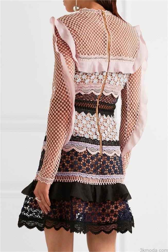mukemmel dantel tasarim elbiseler 2