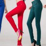 bayan kumas pantolon kombinleri 1