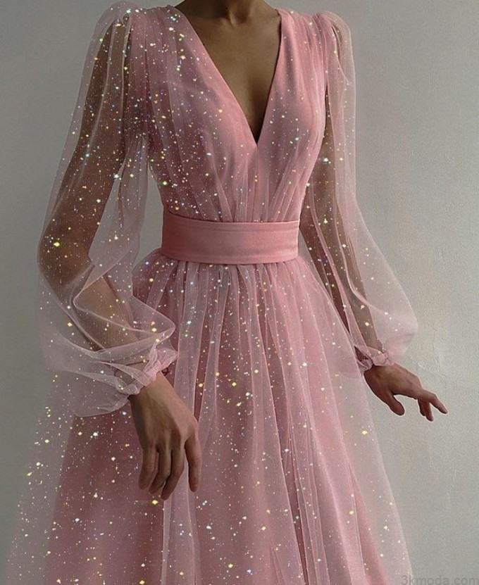 2021 elbise modelleri 8