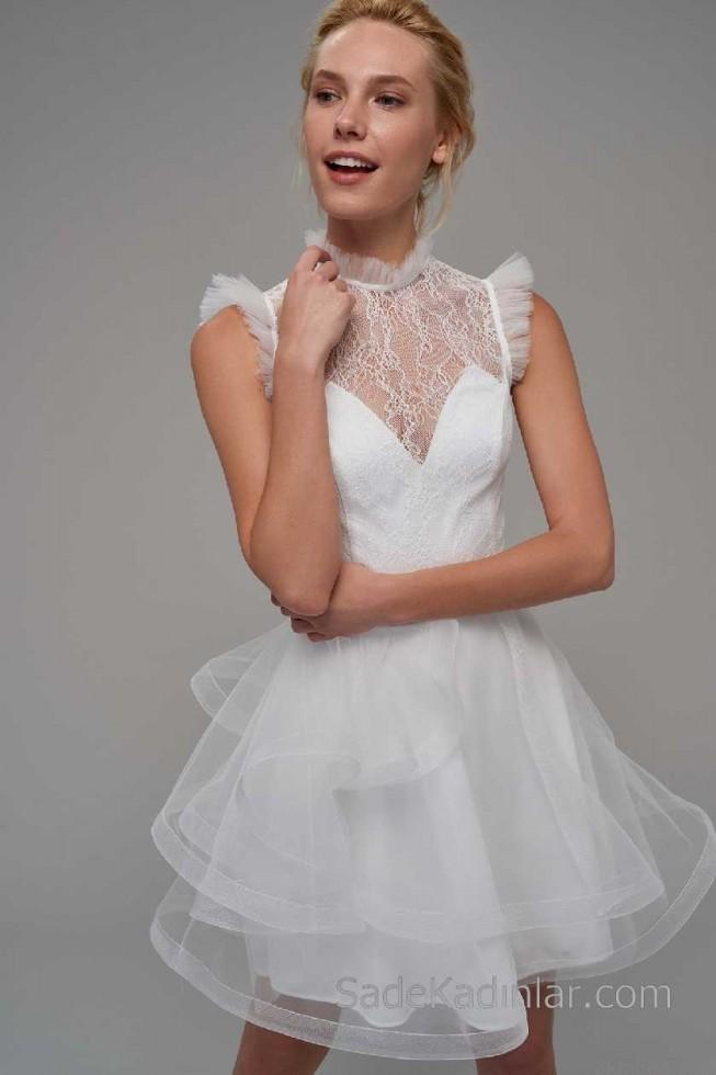 trend alarm transparan elbise modelleri 2021 2