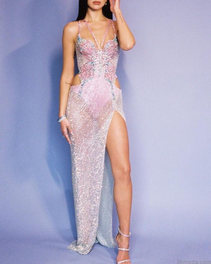 versace elbise modelleri 2021 10
